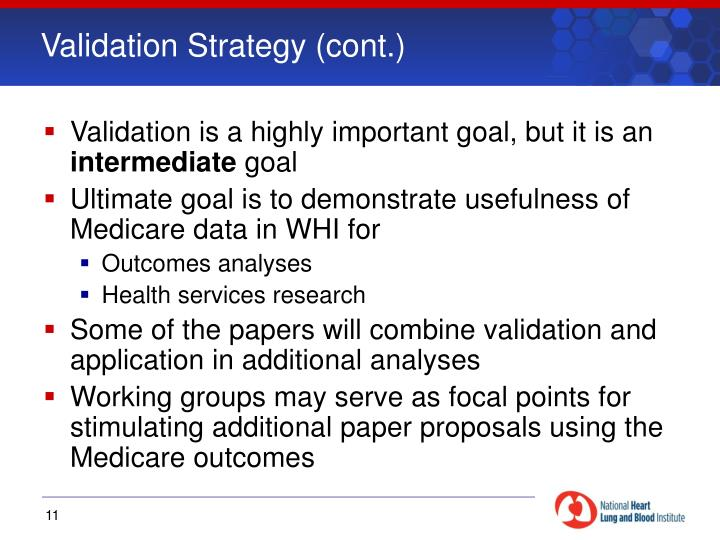 Validation Strategy (cont.)