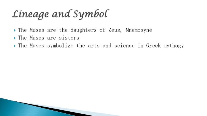 Lineage and Symbol