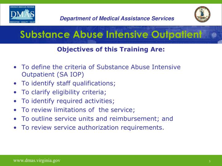 Department of Medical Assistance Services