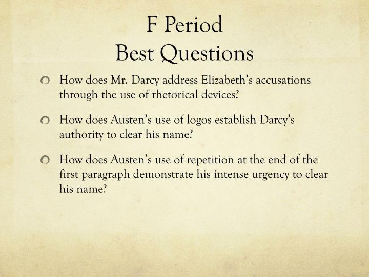 F Period