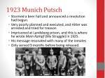 1923 munich putsch