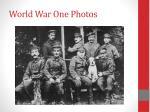 world war one photos
