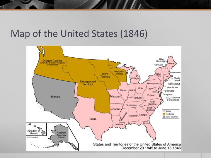 Map of the United States (1846)