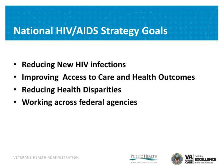 National HIV/AIDS Strategy Goals