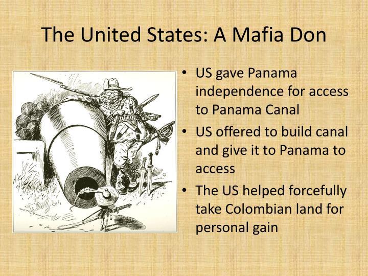 The United States: A Mafia Don