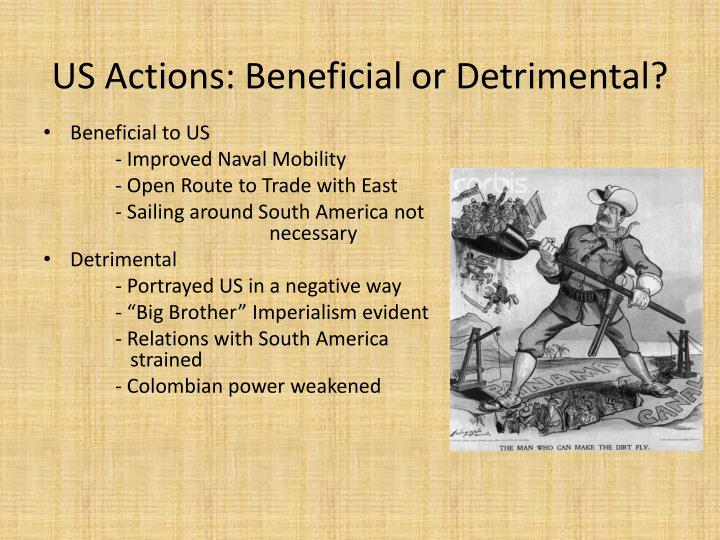 US Actions: Beneficial or Detrimental?