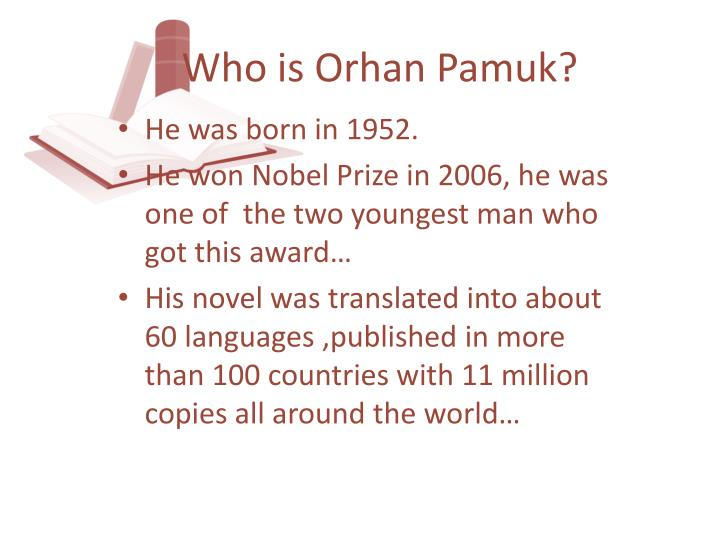 Who is orhan pamuk