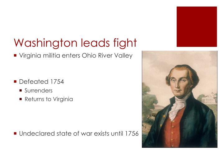 Washington leads fight
