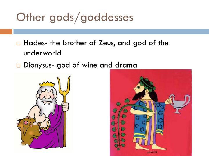 Other gods/goddesses