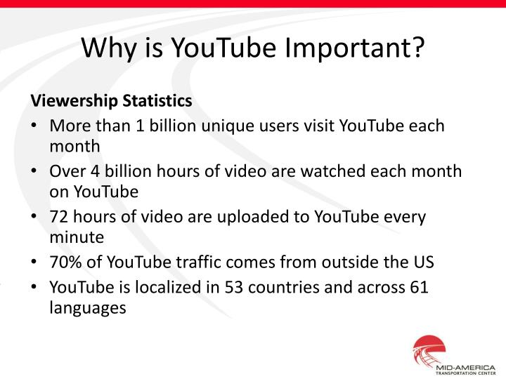 Why is YouTube Important?