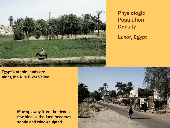 Physiologic Population Density