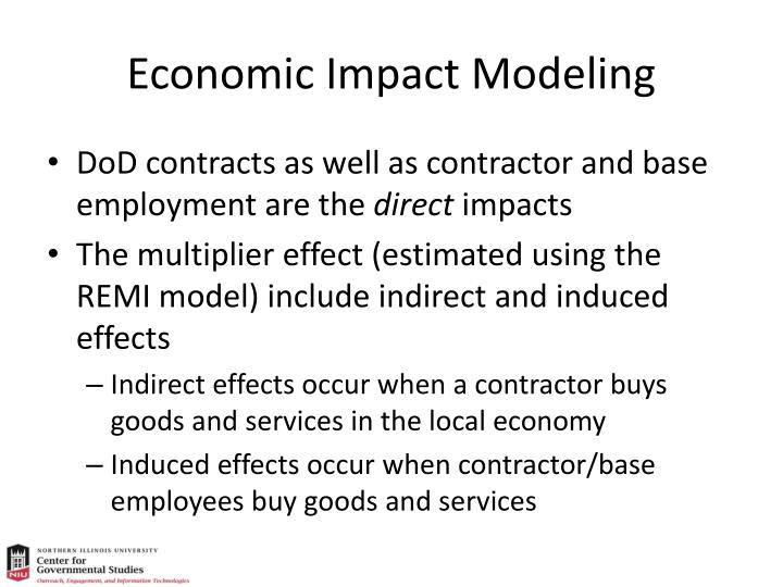 Economic Impact Modeling