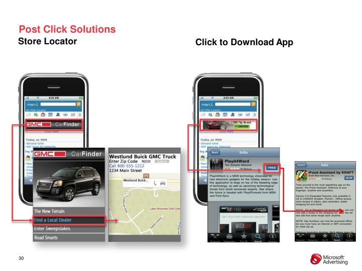 Post Click Solutions