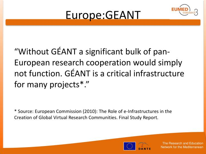 Europe:GEANT