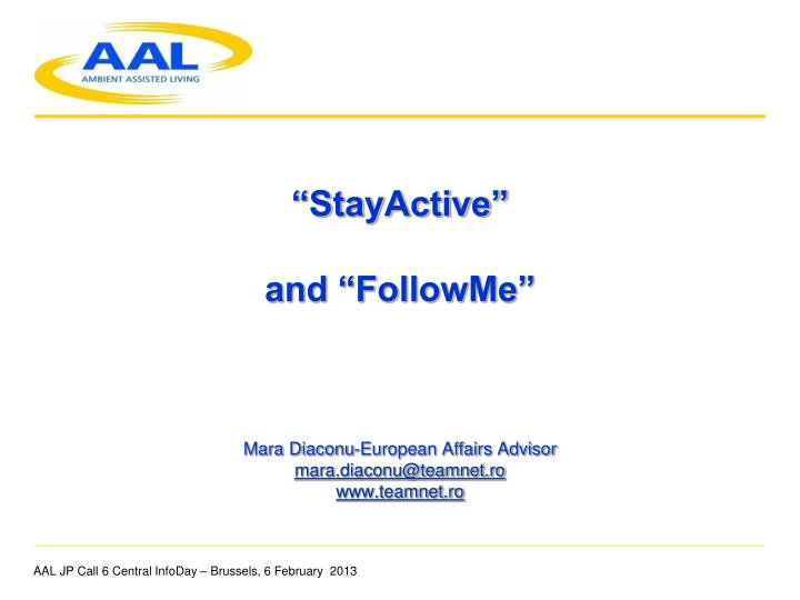 """StayActive"""