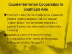 counter terrorism cooperation in southeast asia