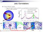 jets correlations