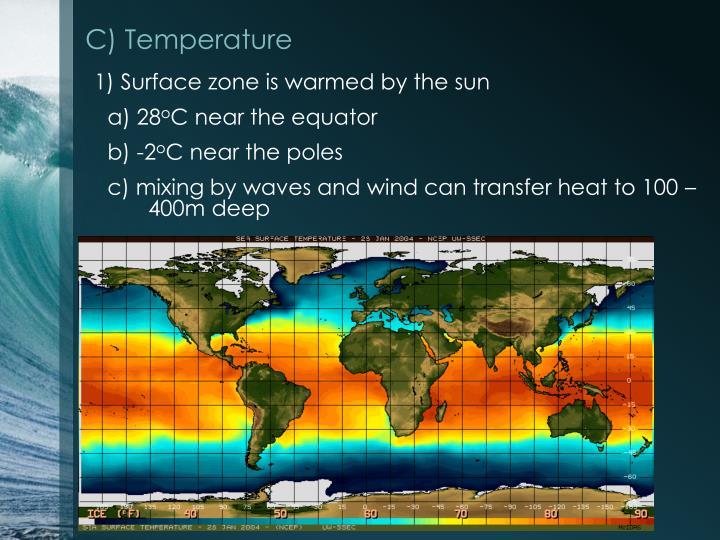 C) Temperature