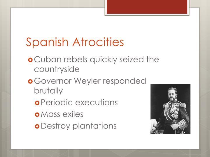 Spanish Atrocities