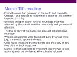 mamie till s reaction