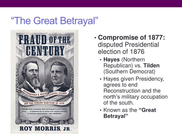 """The Great Betrayal"""