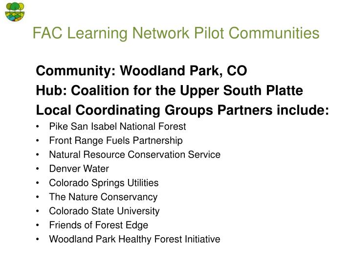 Community: Woodland Park, CO