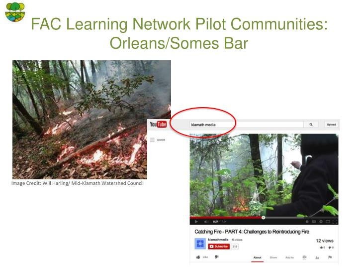 FAC Learning Network Pilot Communities: Orleans/