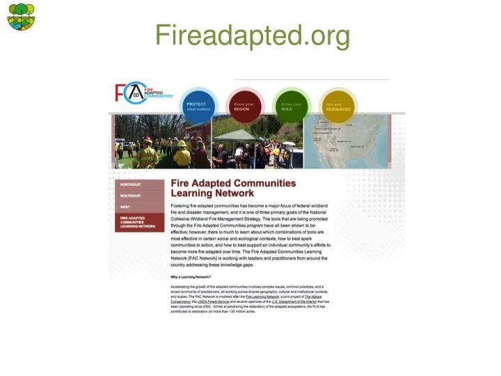 Fireadapted.org