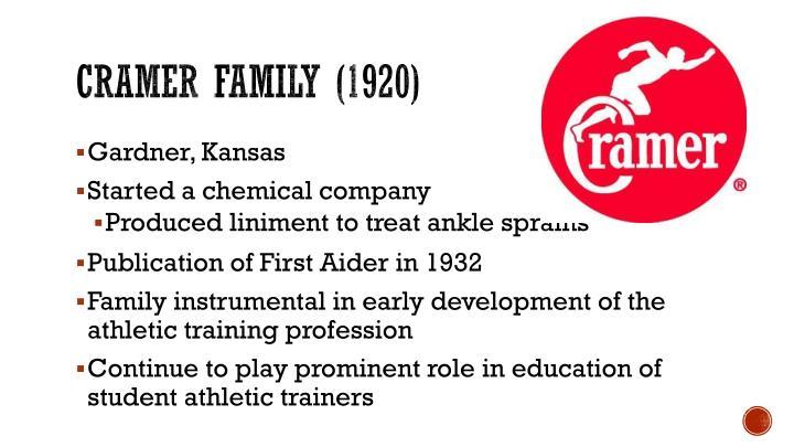 Cramer Family (1920)