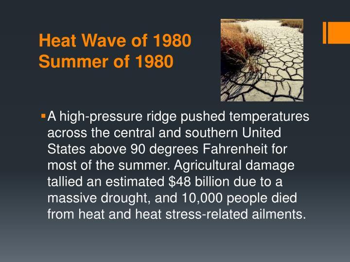 Heat Wave of 1980