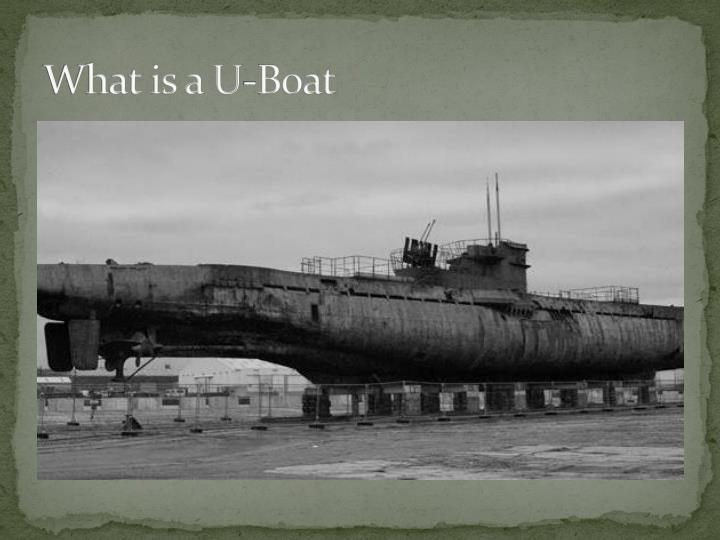 What is a U-Boat