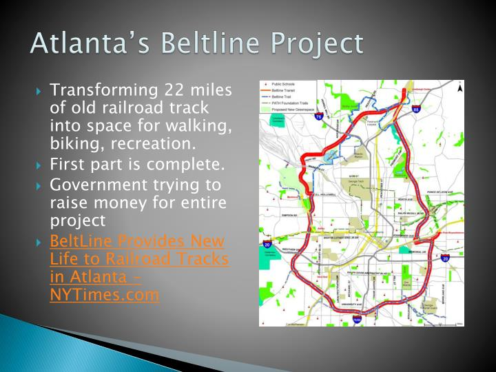 Atlanta's Beltline Project