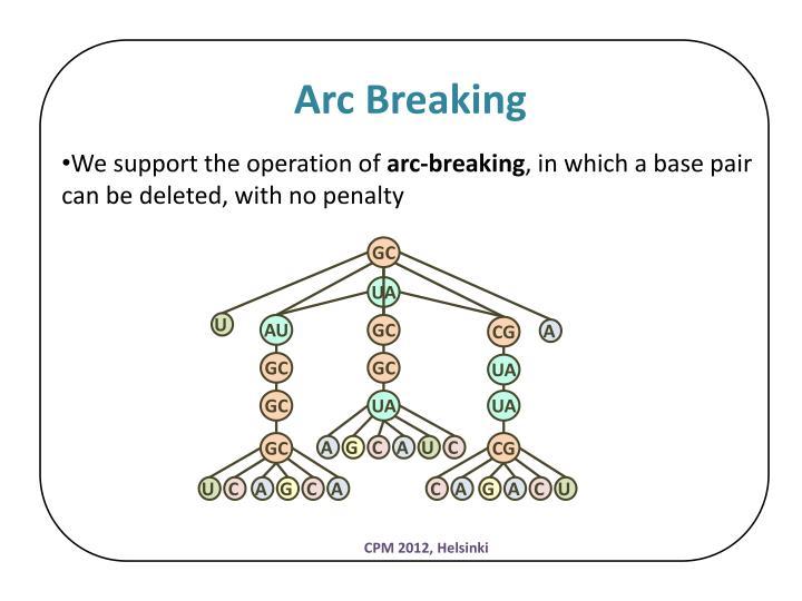 Arc Breaking