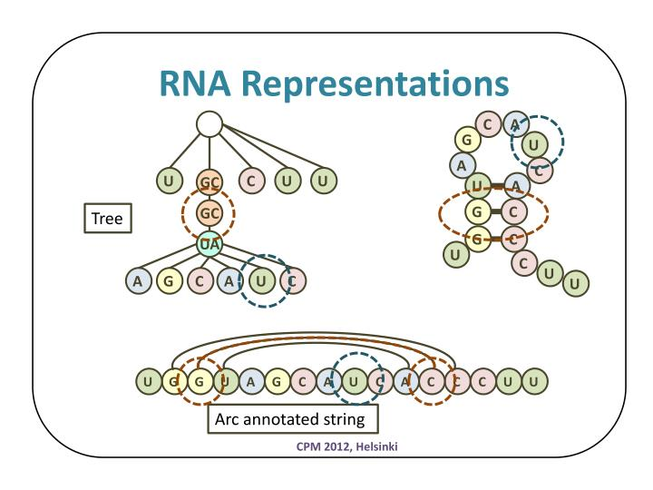 RNA Representations