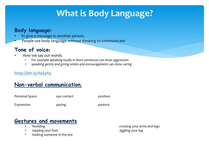 What is Body Language?