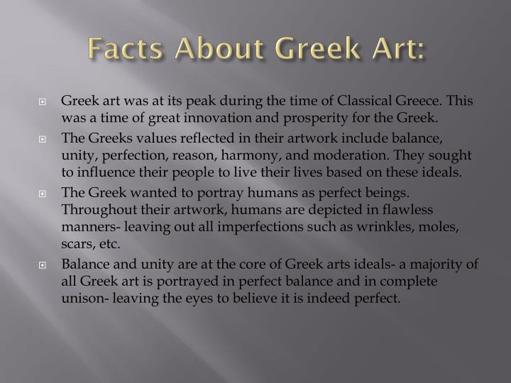 Facts About Greek Art: