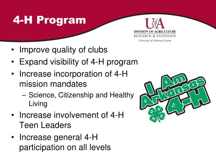 4-H Program