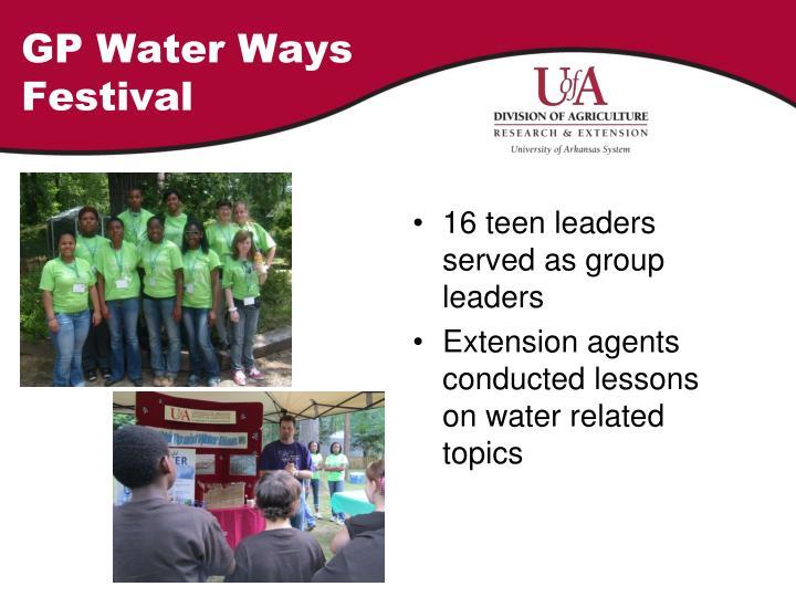 GP Water Ways Festival