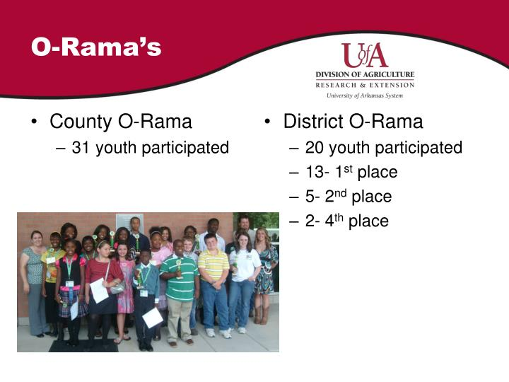 O-Rama's