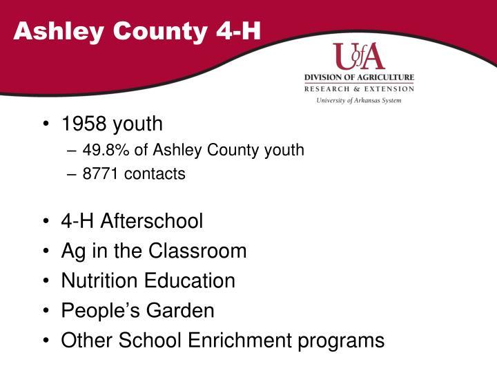 Ashley County 4-H