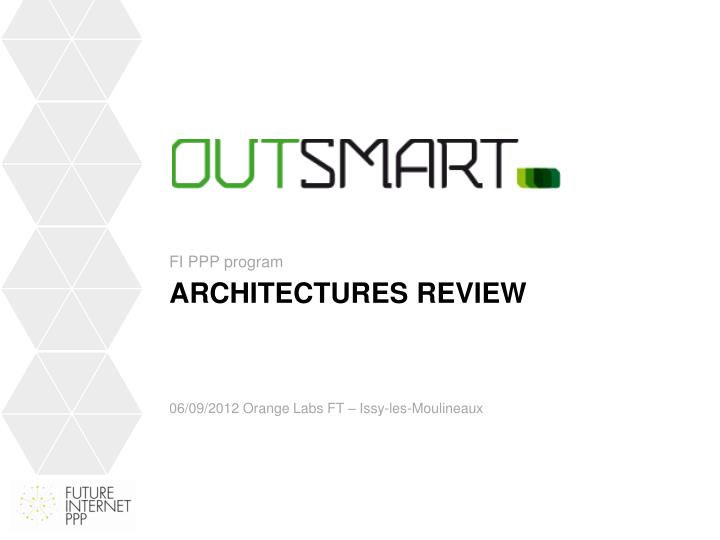 Architectures review