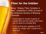 fiber for the imbiber1