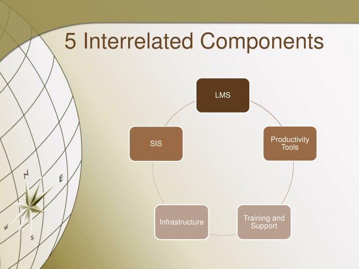 5 Interrelated Components