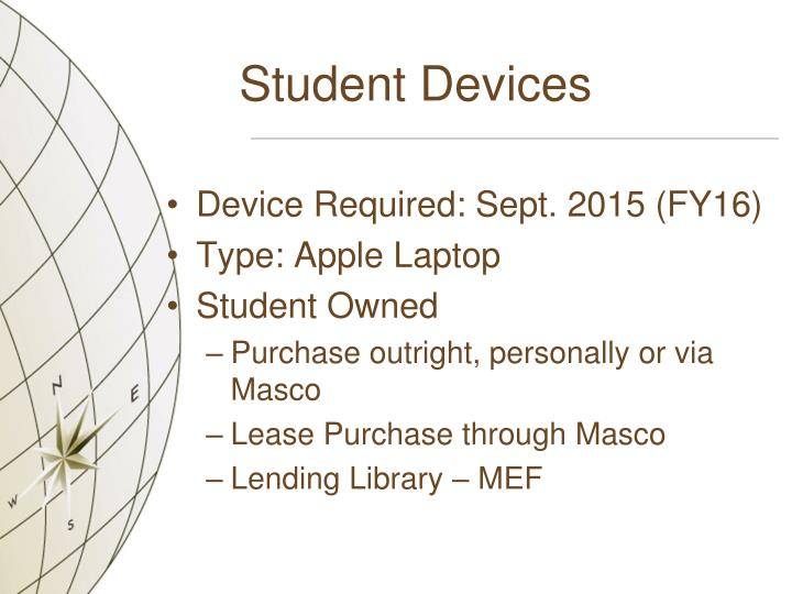 Student Devices
