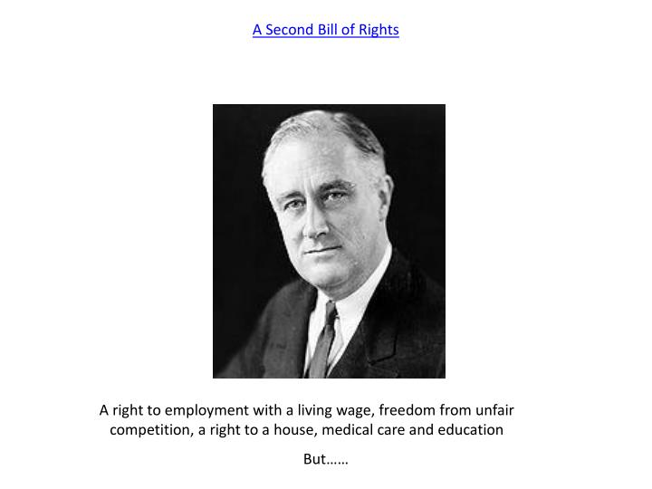A Second Bill of Rights