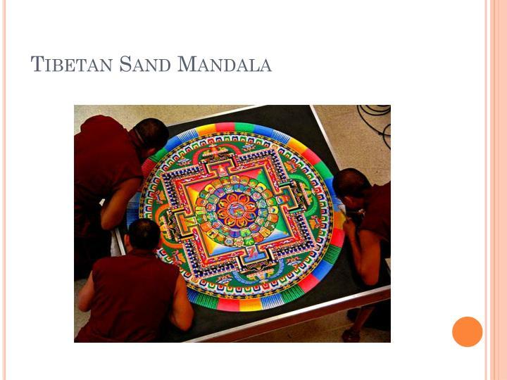 Tibetan Sand
