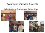 community service projects1