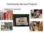community service projects2