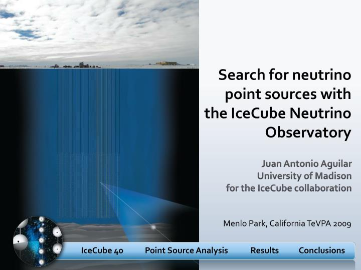 Search for neutrino point sources with the IceCube Neutrino Observatory