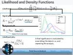 likelihood and density functions
